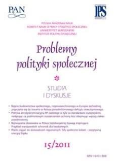 Problemy Polityki Społecznej
