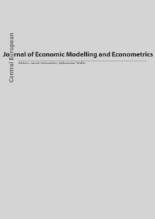 Central European Journal of Economic Modelling and Econometrics