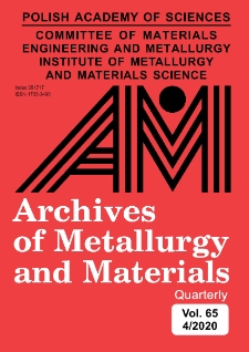 Archives of Metallurgy and Materials