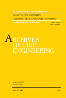 Archives of Civil Engineering
