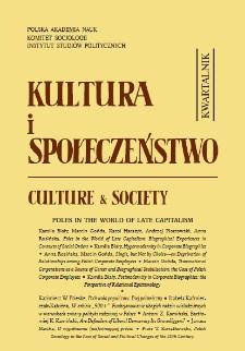 Kultura i Społeczeństwo