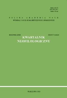 Kwartalnik Neofilologiczny