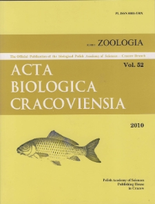 Acta Biologica Cracoviensia s. Zoologia