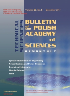 Bulletin of the Polish Academy of Sciences: Technical Sciences