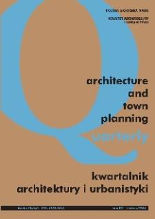 Kwartalnik Architektury i Urbanistyki